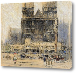 Картина Лондон: Вестминстерское аббатство