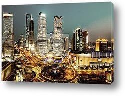 Постер Прекрасный Шанхай ночю