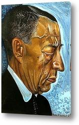Постер Портрет Рахманинова