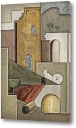 Картина Композиция с архитектурой из Прованса