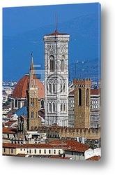 Firenze: notturna sulla Cattedrale di S. Naria del Fiore 2