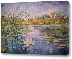 Картина Водный мир лета