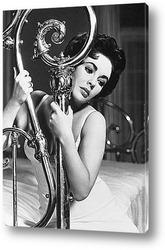 Мерелин Монро на приёме у Фрэнка Деланей,1955г.