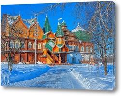 Постер Дворец царя Алексея Михайловича. Коломенское.