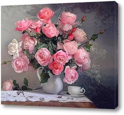28 октября, последние осенние. Розы