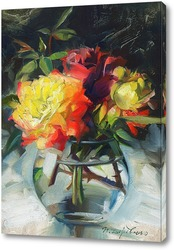 Картина Яркие розы
