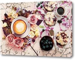 Постер утрений кофе