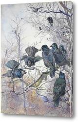 Картина Вороны
