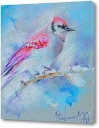Картина Зимняя птица