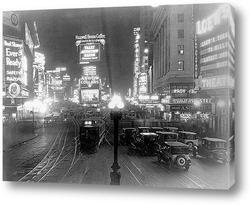 Постер Таймс сквер,1920-е.