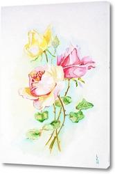 Картина Три розы