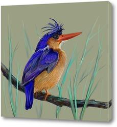 Картина Птица певчая