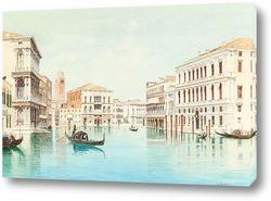 Картина Вид на Дворец Дожей