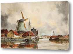 Постер Канал сцены, Роттердам