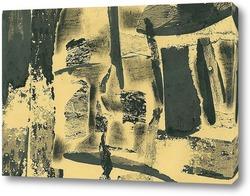 Картина абстрактный август