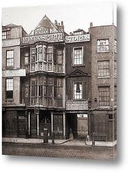 Постер Бишопсгейт, Лондон.