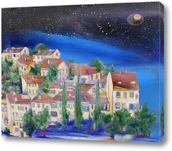 Картина Ночной городок