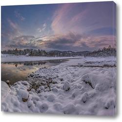 Постер Зимний берег