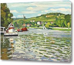 Картина Лодки в Триеле