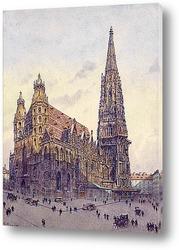 Картина Церковь Св. Стефана в Вене