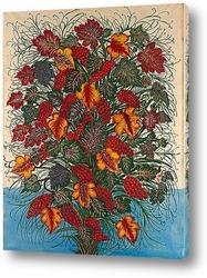 Картина Большой букет цветов