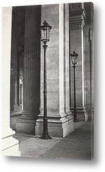 Постер Лувр, библиотека