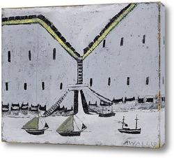 Картина Ворота в док