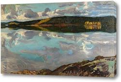 Картина Озеро Руовеси