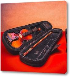 Постер Скрипка в футляре