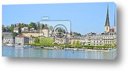 Постер Lucerne ...suisse