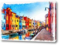 Картина Улочка Италии