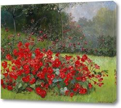 Картина Летний сад