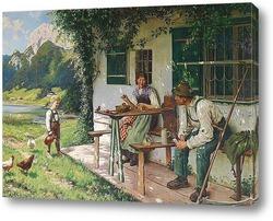 Картина художника 19-20 веков
