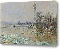 Этрета, Бурное море (1883)
