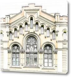 Красочные окна.Коллаж