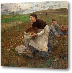 Картина Октябрь