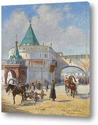 Постер Вид Москвы