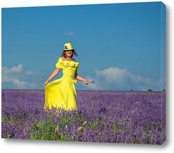 Постер В аромате лаванды