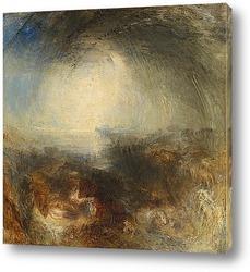 Постер Тени и тьма-Вечер Великого потопа