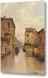 Картина Канал в Венеции