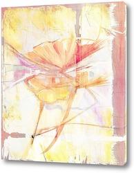 Картина Маки на холсте