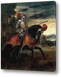 Постер Карл V в битве при Мюльберге
