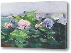 Постер Водяные лилии