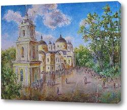 Постер У Матроны. Покровский монастырь