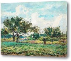Пейзаж Буа-ле-Руа