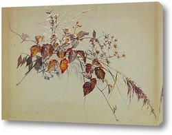 Постер Осенний букет