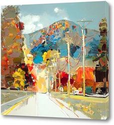 Картина Автомагистраль