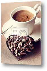 Постер Кофе  с  шоколадом