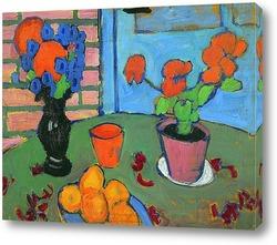 Цветочный Натюрморт с вазой