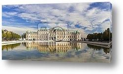 Постер Schloss Belvedere, Wien